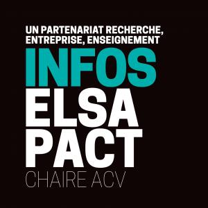 La 1ère lettre d'Infos ELSA-PACT