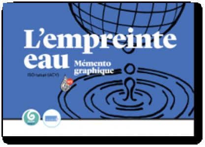 L'empreinte eau - Memento graphique